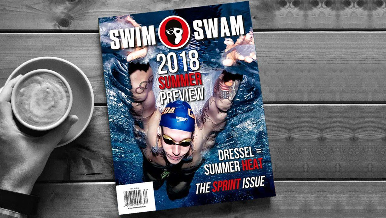 How To Get The Caeleb Dressel Cover Of The 2018 Summer Preview