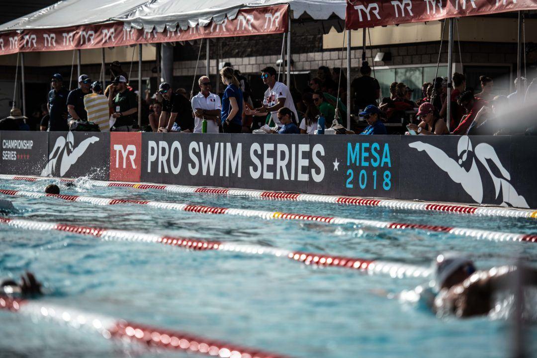 'Mixed' Medley Relay Won By 4 Men, Distance Shortened At Mesa PSS