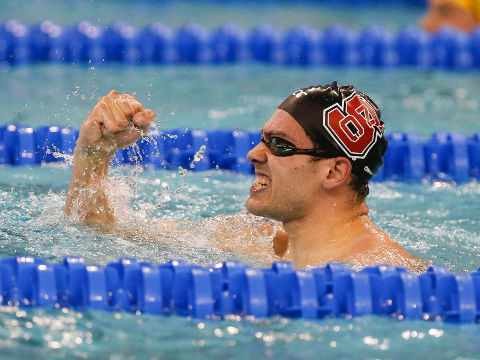 Albiero and Vazaios to Square Off Again in 200 Fly on ACC Day 4