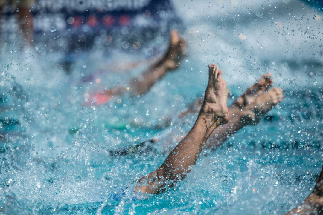 FINA Rule Interpretation Could Outlaw Energy For Swim Meet