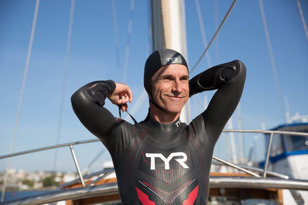 French-Born Texas Man to Attempt 6 Month Pacific Ocean Swim