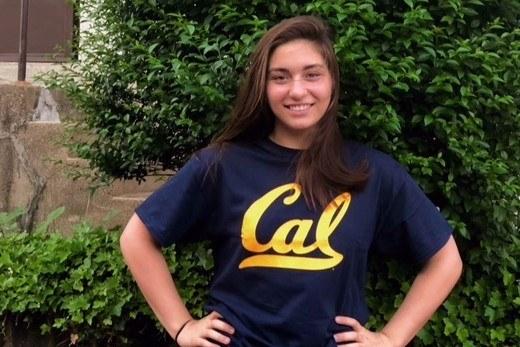 Cal Freshman Anna Kalandadze Enters NCAA Transfer Portal