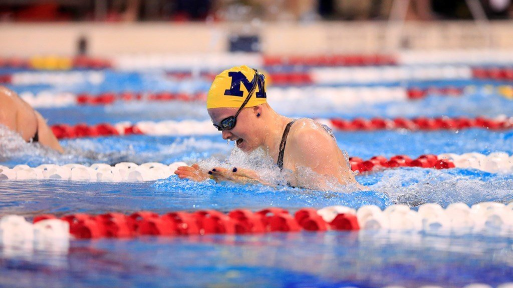 Michigan's Carolyn McCann Receives NCAA Postgraduate Scholarship