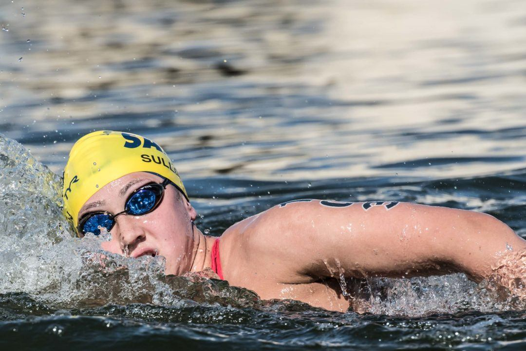 Erica Sullivan Claims National Open Water 5K Title With Decisive Win