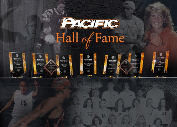Women's Swimmer Sarah Marshall named to Pacific Athletics Hall of Fame