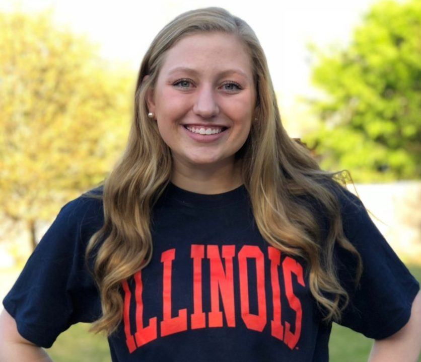 Nitro Breaststroker Lauren Partridge Commits to Illinois