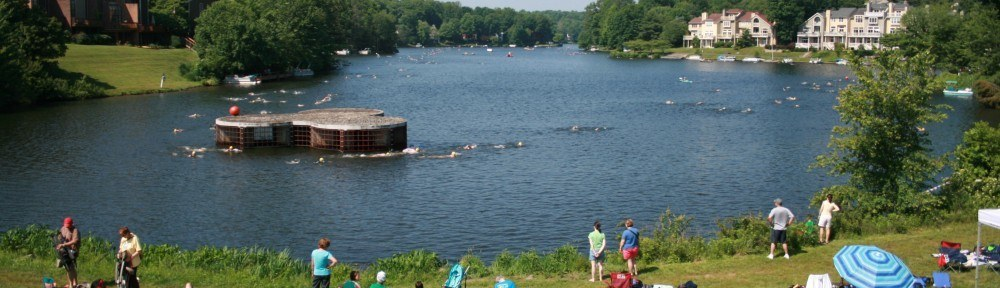 A Memorial Day Weekend Tradition Draws Elite Swimmers to Lake Audubon