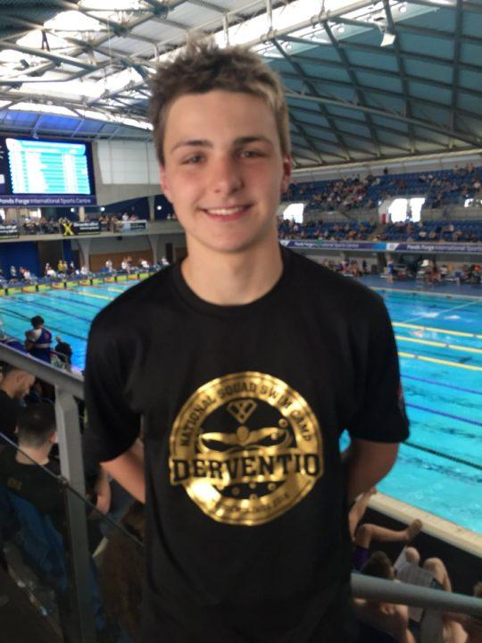 Jacob Whittle Does it Again, Breaks British Boys 14 Age Record in 50 FR