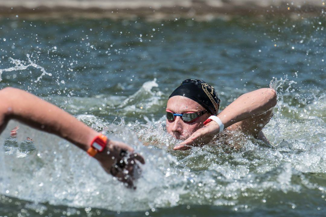 WATCH: Open Water 10K National Winner Interviews, Race Finishes