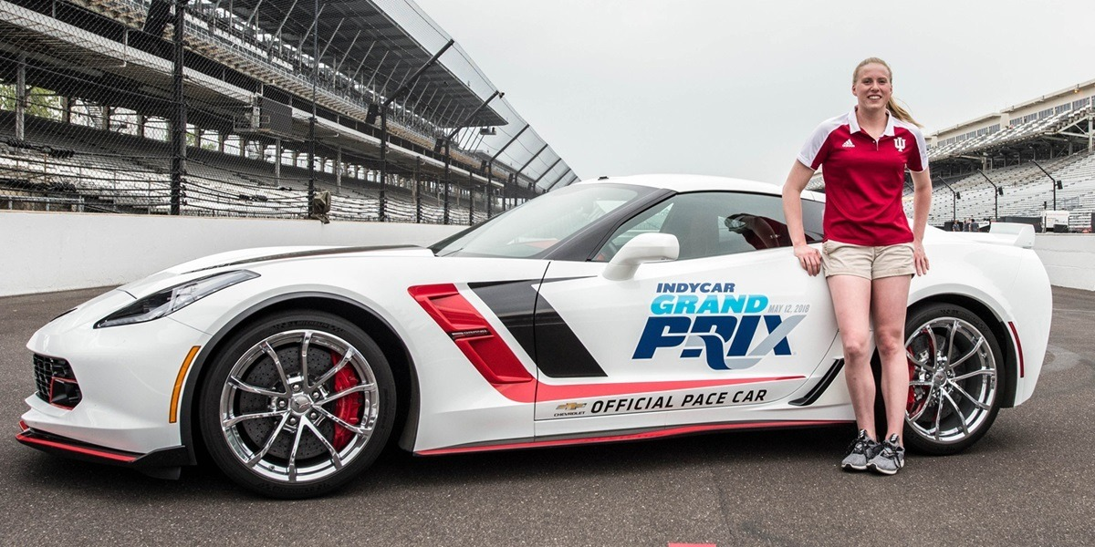 Lilly King to Drive Pace Car at 2018 IndyCar Grand Prix