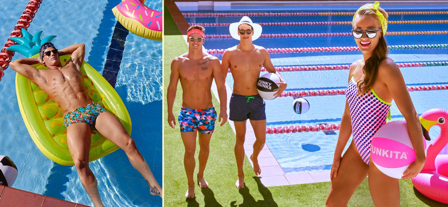 New Training Suits From Funky Trunks and Funkita Up for Grabs