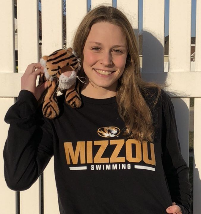 Mizzou Scores Verbal Commitment from Iowa HS Record-holder Molly Winer
