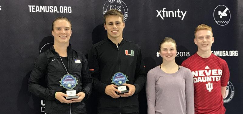Mixed Syncho Titles Awarded on Day of USA Diving Senior Nationals