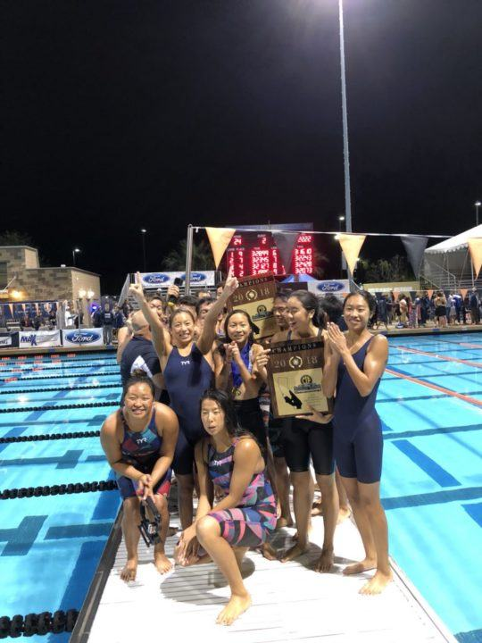 Rowland High Sweeps Division 4 Team Titles