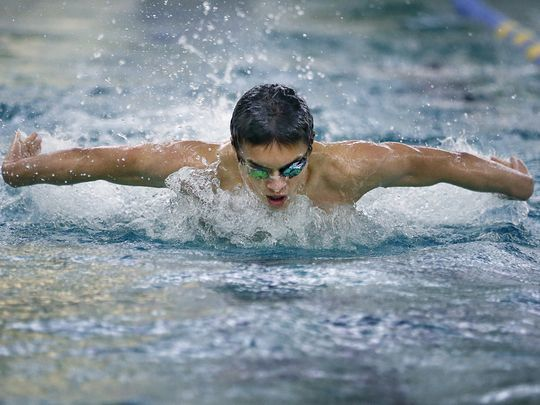 Like Ervin, Sam Rivera Embraces Tourette's to Excel in the Water