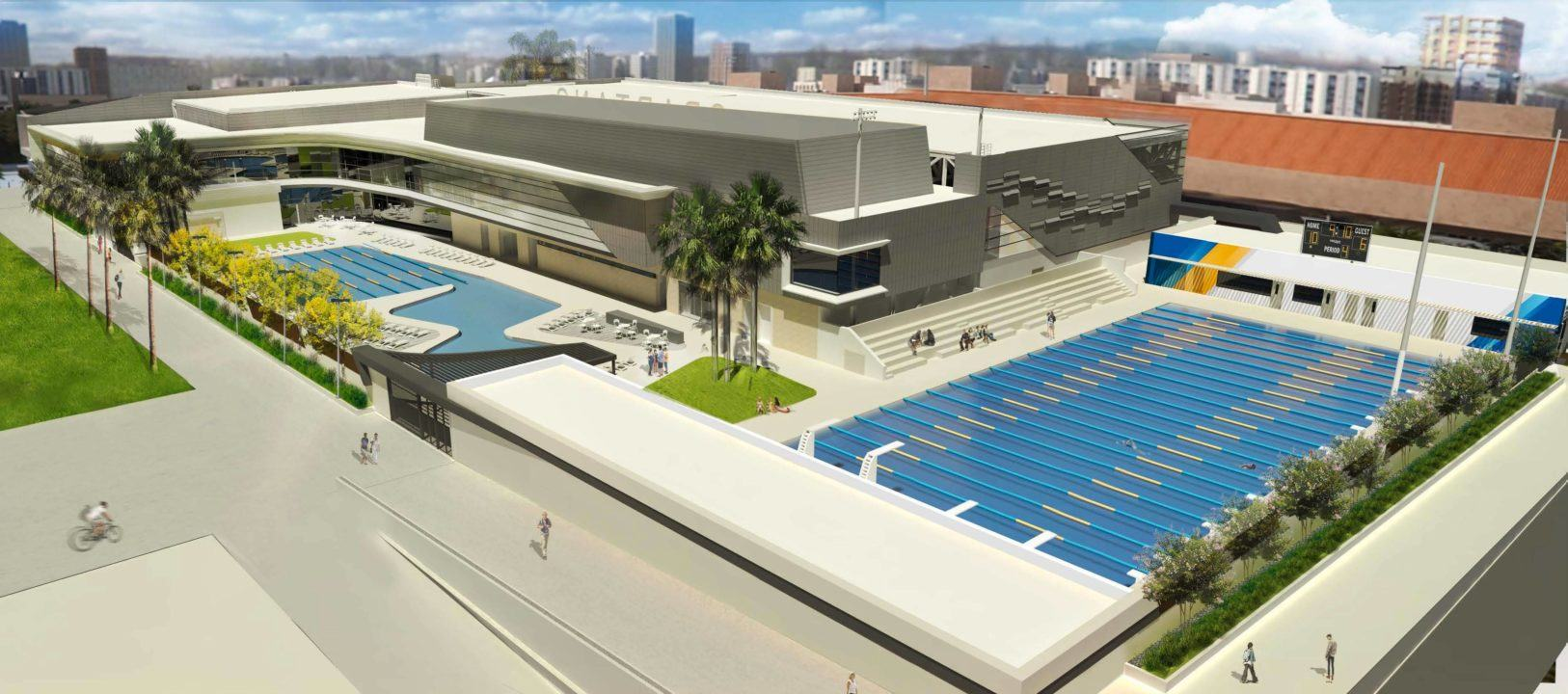 San Jose State Breaks Ground on New On-Campus Aquatic Center