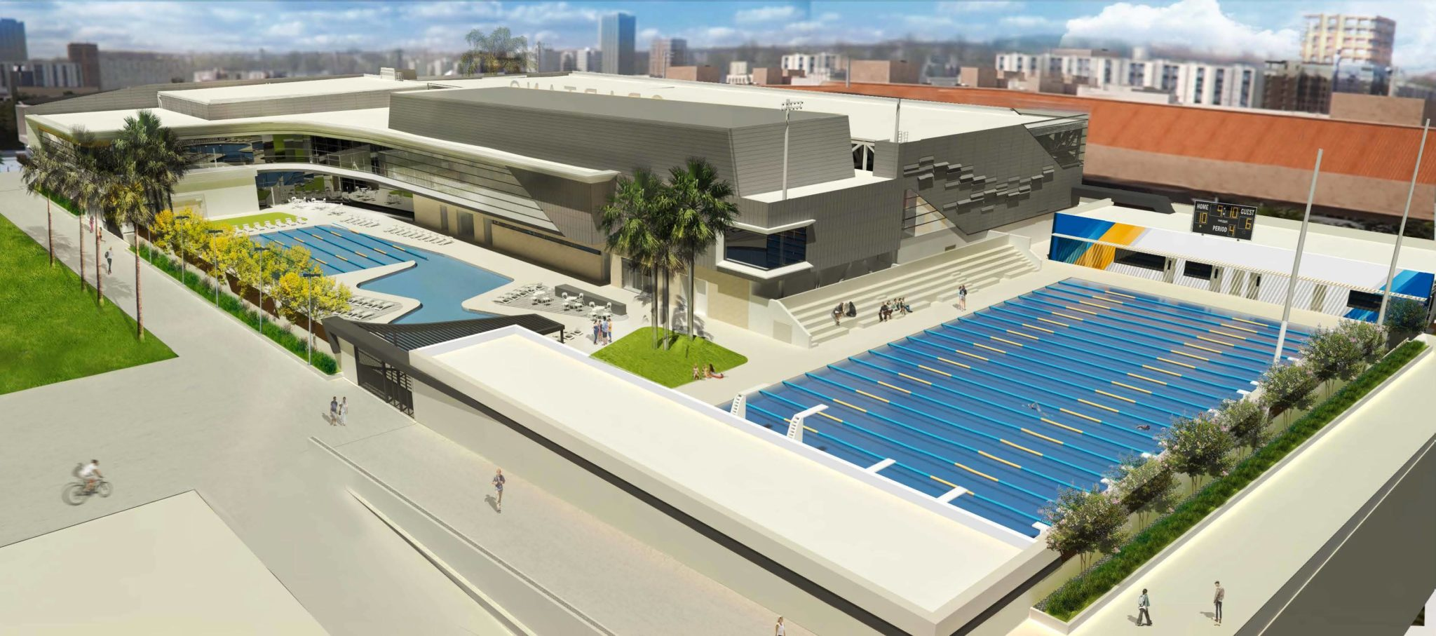 San jose state breaks ground on new on campus aquatic center for San diego state university swimming pool