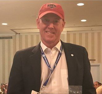 SMU Coach Collins Honored at CSCAA Convention