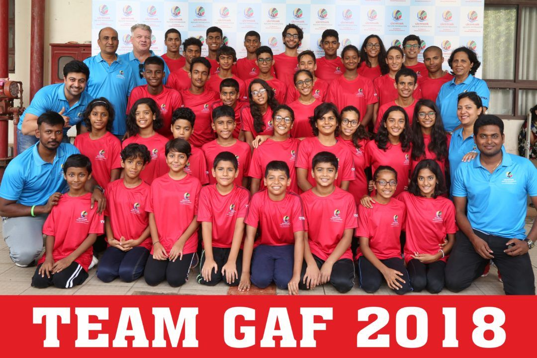 GAF Topped The Medal Tally -GMAAA Age Group Championships 2018