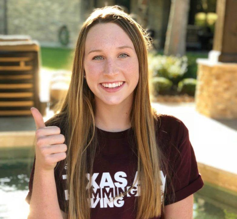 Aggies Pick Up Verbal from In-state Freestyler Sydney Stanford