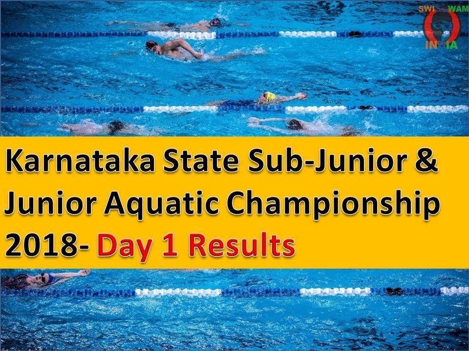 Day 1 Ke Reults: Karnataka State Sub-Junior & Junior Championship 2018