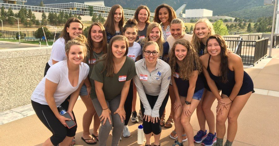 Air Force Women's Swimming Add 14 Members from Class of 2022