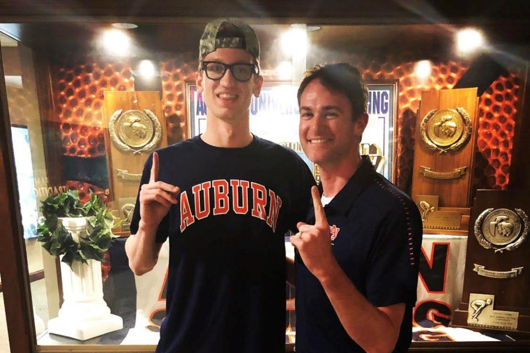 Auburn Scores Verbal Commitment from 2x NY Fed Champ Christian Sztolcman
