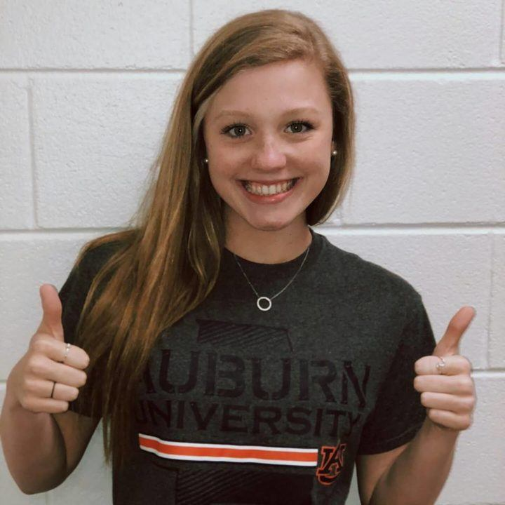 Auburn Receives Verbal Commitment from GHSA Champ Hannah Mattson