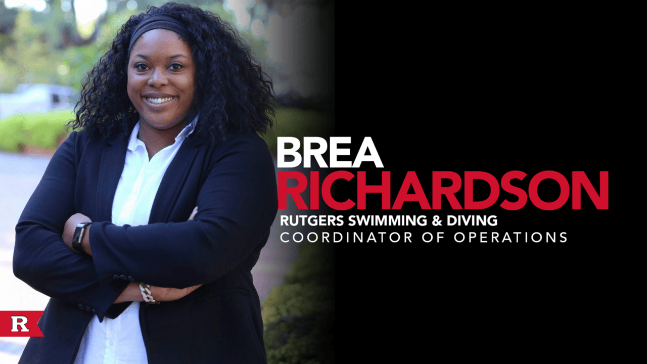 Brea Richardson Joins Rutgers Swim & Dive as Coordinator of Operations