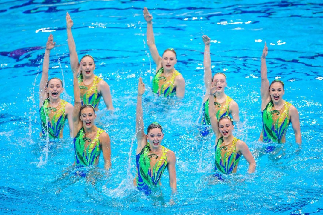 Britain Announces Synchonized Swimming Roster for Glasgow 2018