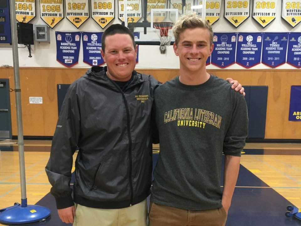 Sprinter/Water Polo Dual Athlete Jared Martin Commits to Cal Lutheran