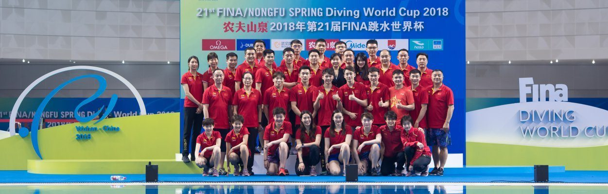 Team China Finishes a Perfect Diving World Cup