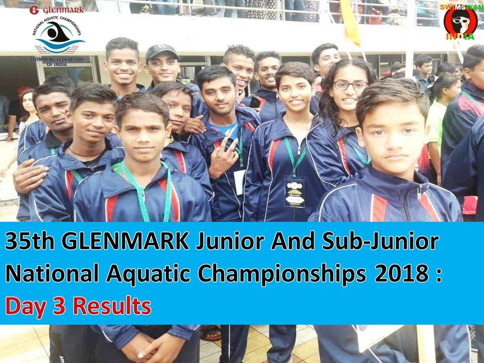 Day 3 Results: GLENMARK Junior, Sub-Junior National Championships