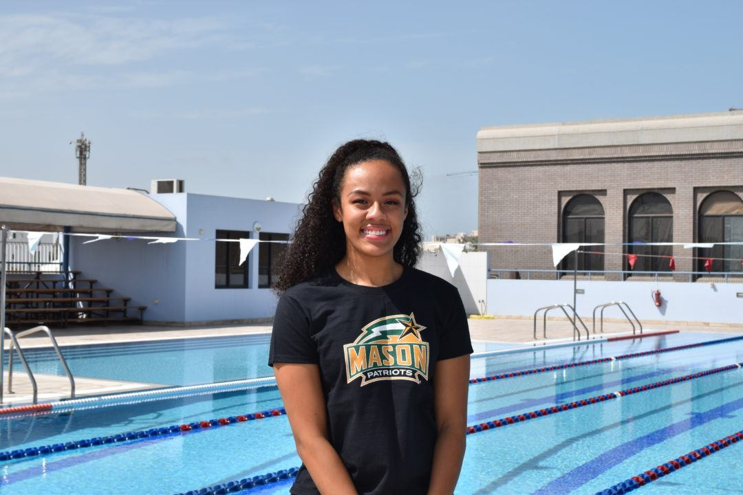 Megan Cummins, Ariana Lewis and Laura Hodge to Swim for George Mason