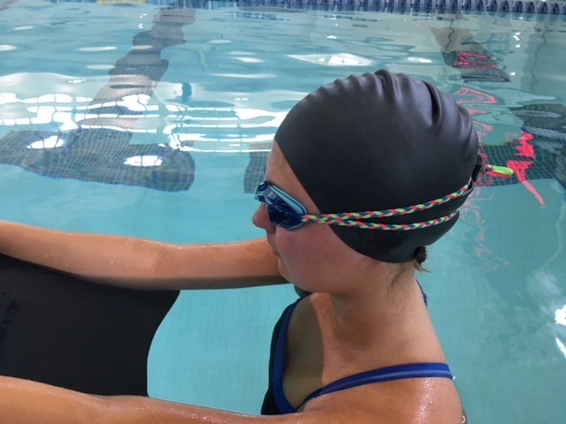 Smack Swim Strap: Designed For Goggle Straps Comfort