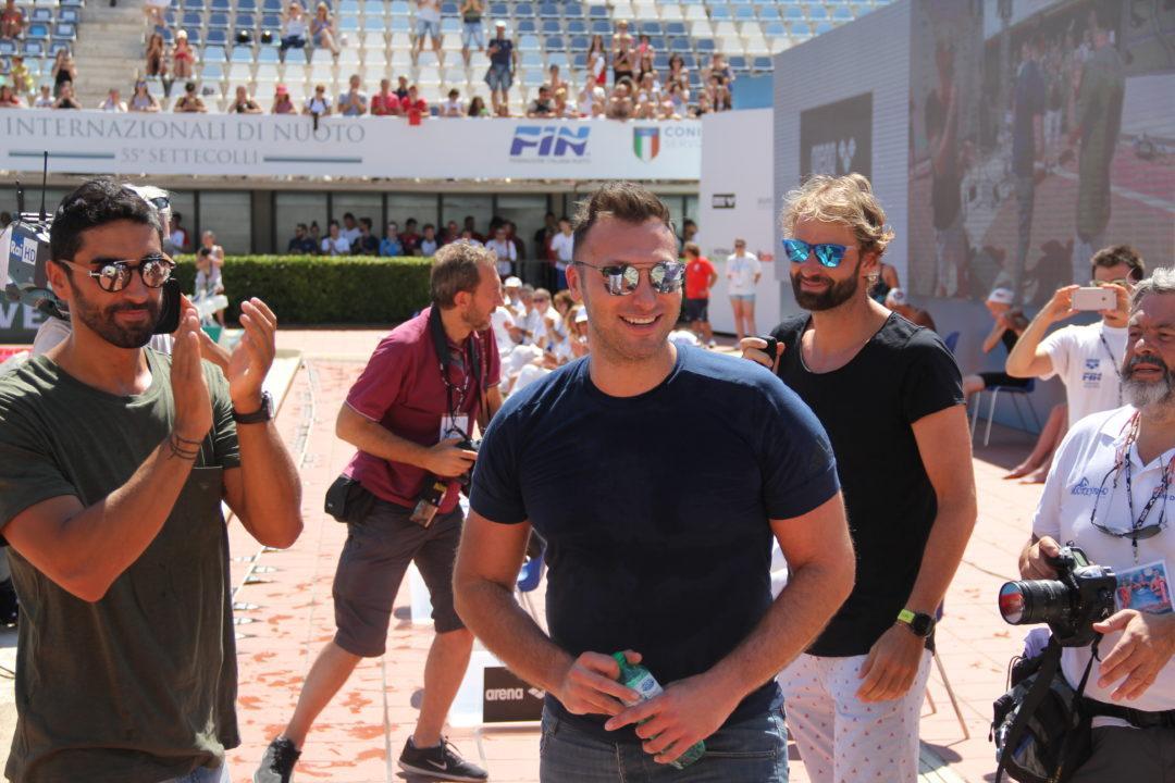 Ian Thorpe Makes An Appearance In Rome