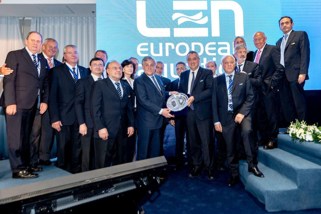 """Progetto LEN """"Learn To Swim"""": Il Supporto Del Presidente Tajani"""