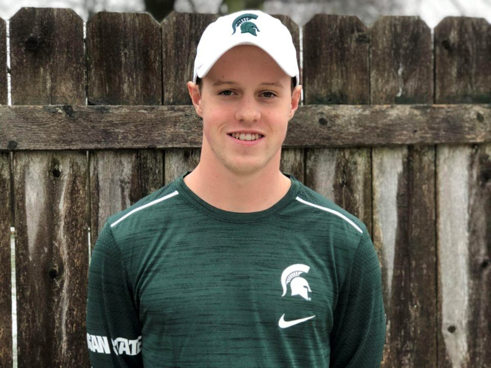 Michigan State Earns Commitment from In-state Breaststroker Cooper Prue