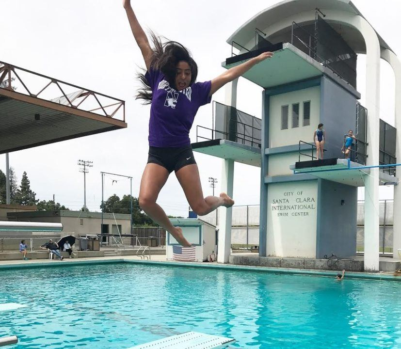 California Diver Labonita Ghose Verbally Commits to Northwestern