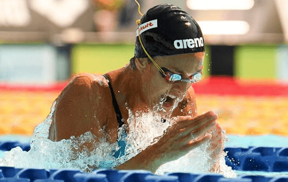 Martina Carraro Bronzo Mondiale E Record Italiano 50 Metri Rana