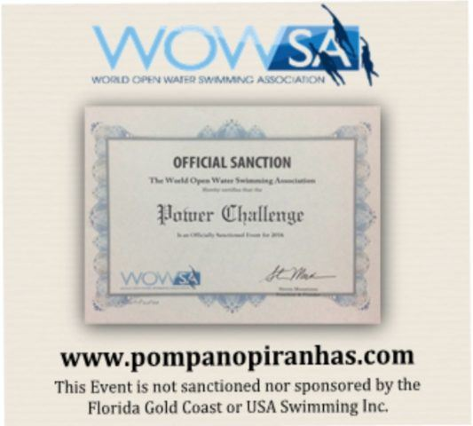 POWER Challenge 2018: Piranhas Open Water Extreme Race Sept 1st