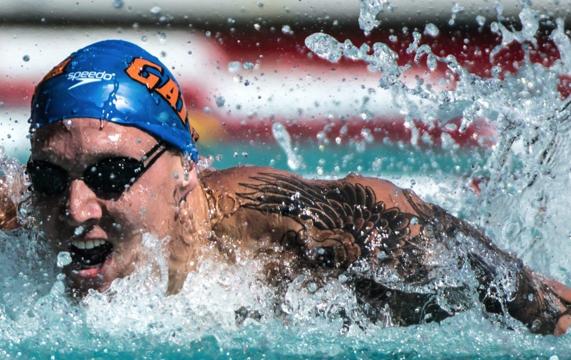 Caeleb Dressel Named SEC Male Athlete of the Year