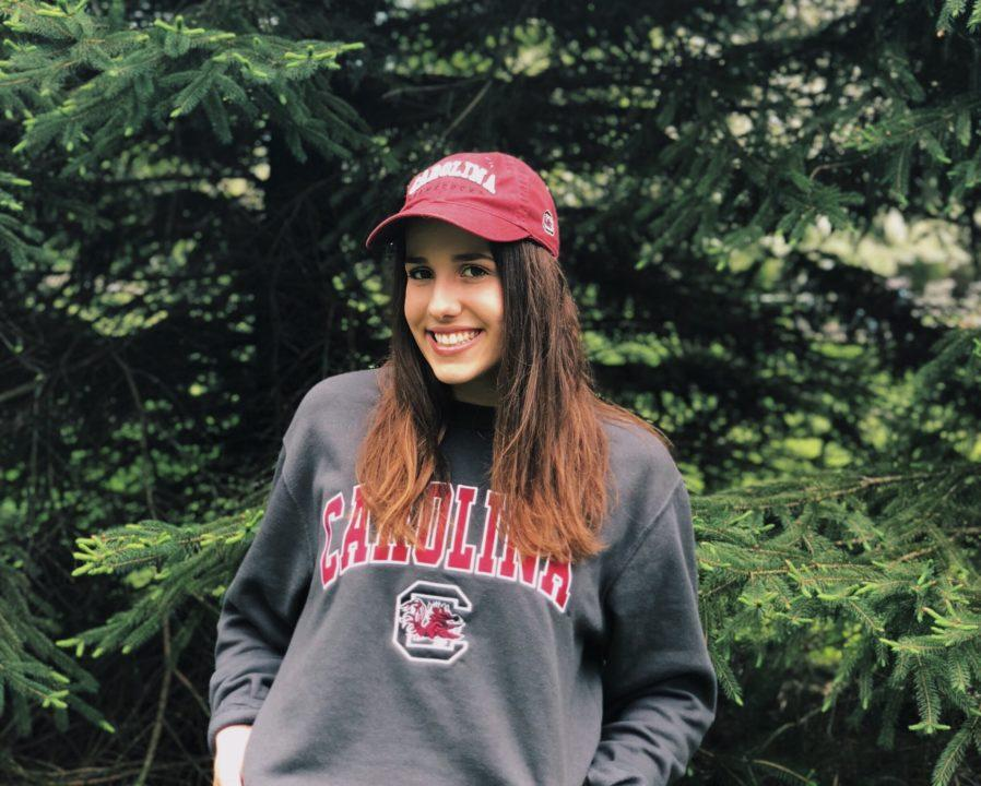 Mid-distance Freestyler Anne Tavierne Verbally Commits to South Carolina