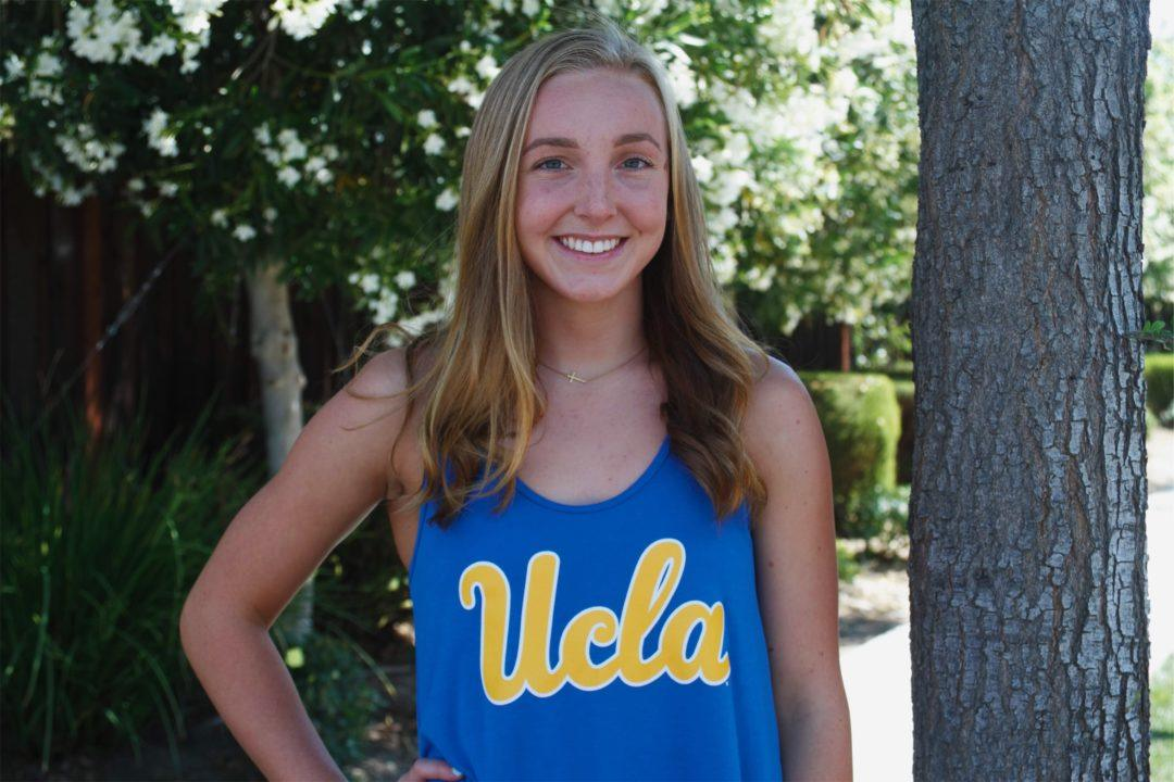 In-state Distance Freestyler Daniella Hawkins Gives Verbal Nod to UCLA