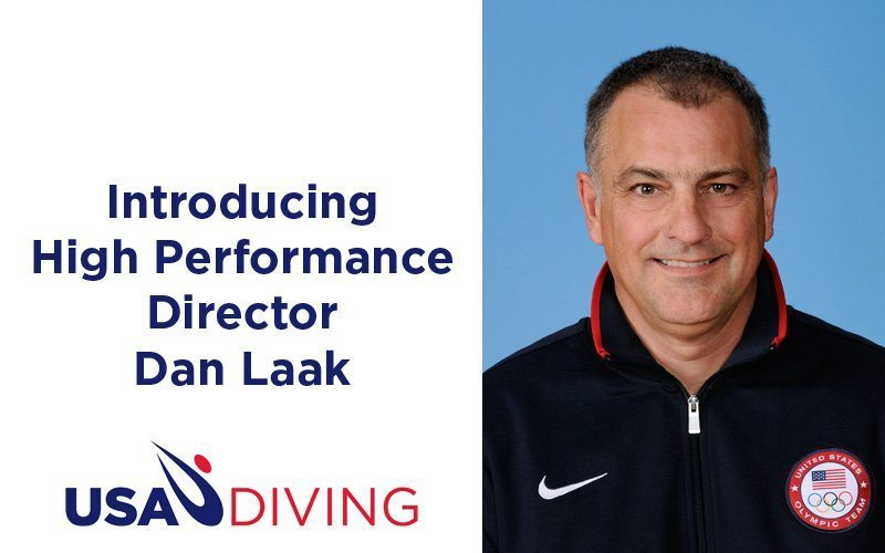 Dan Laak Named USA Diving High Performance Director