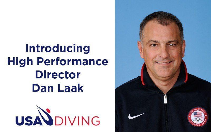 Dan Laak Named USA Diving High Performance Director