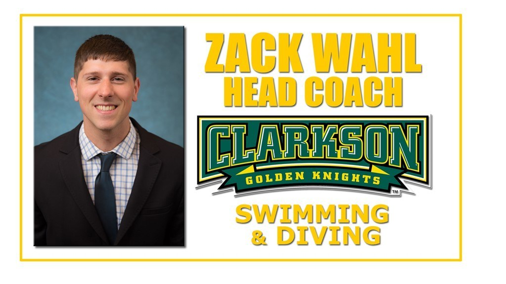 Clarkson Hires Zack Wahl as Head Swimming & Diving Coach