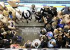 Club Wolverine has an 18-Under National Group of Over 50 Swimmers (Video)