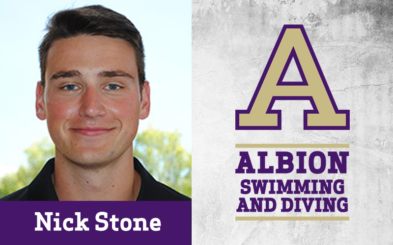 Albion Hires Nick Stone as Head Swim & Dive Coach