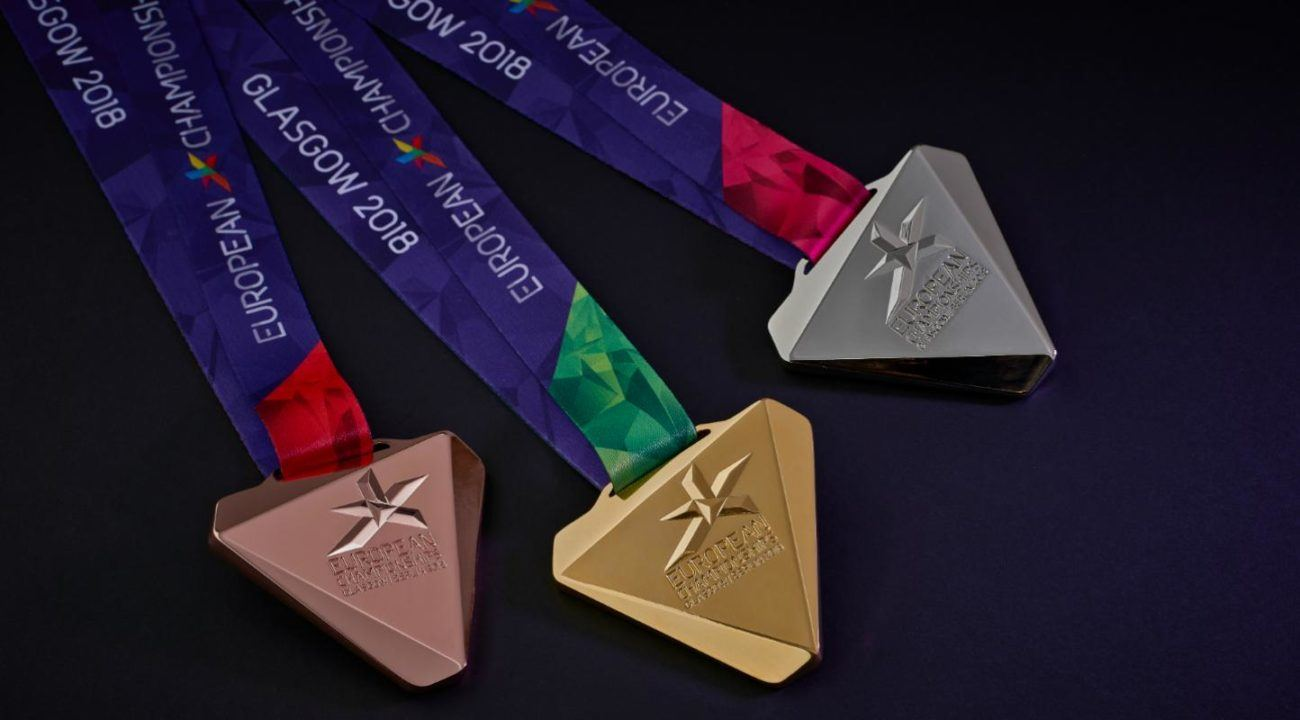 LEN Unveils Medal Design for 2018 European Championships